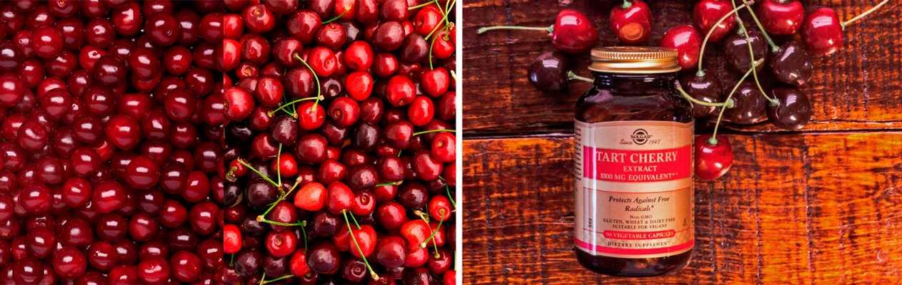 Лучшие препараты на основе вишни и черешни с iHerb