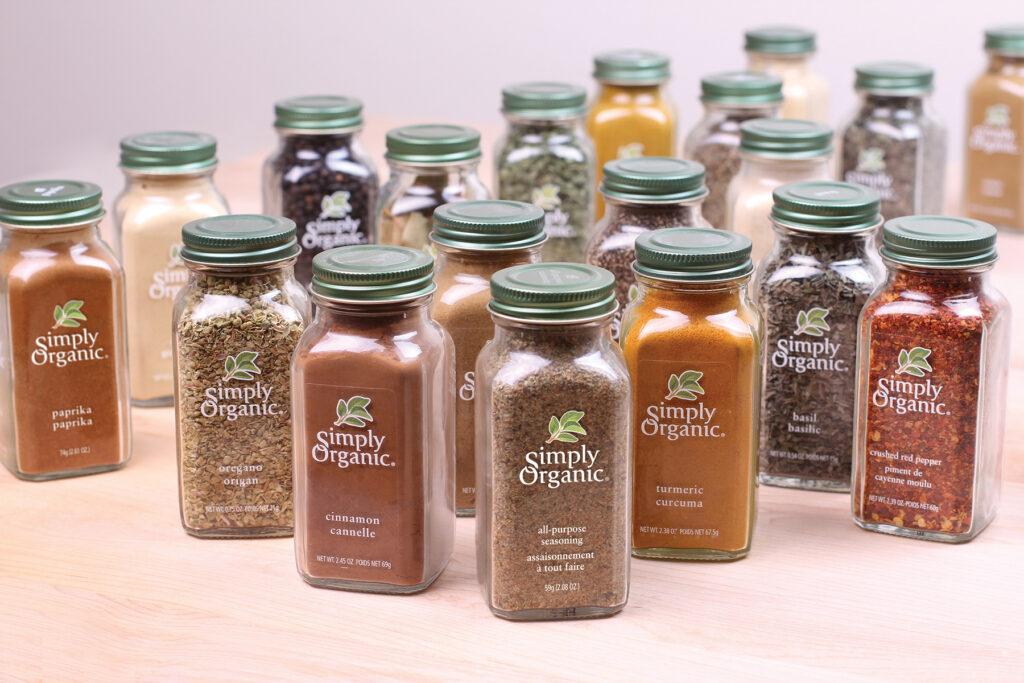 Simply Organic — лучшие специи на Айхербе