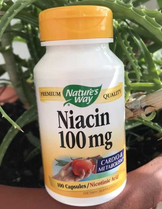 Популярные добавки с ниацином с iHerb