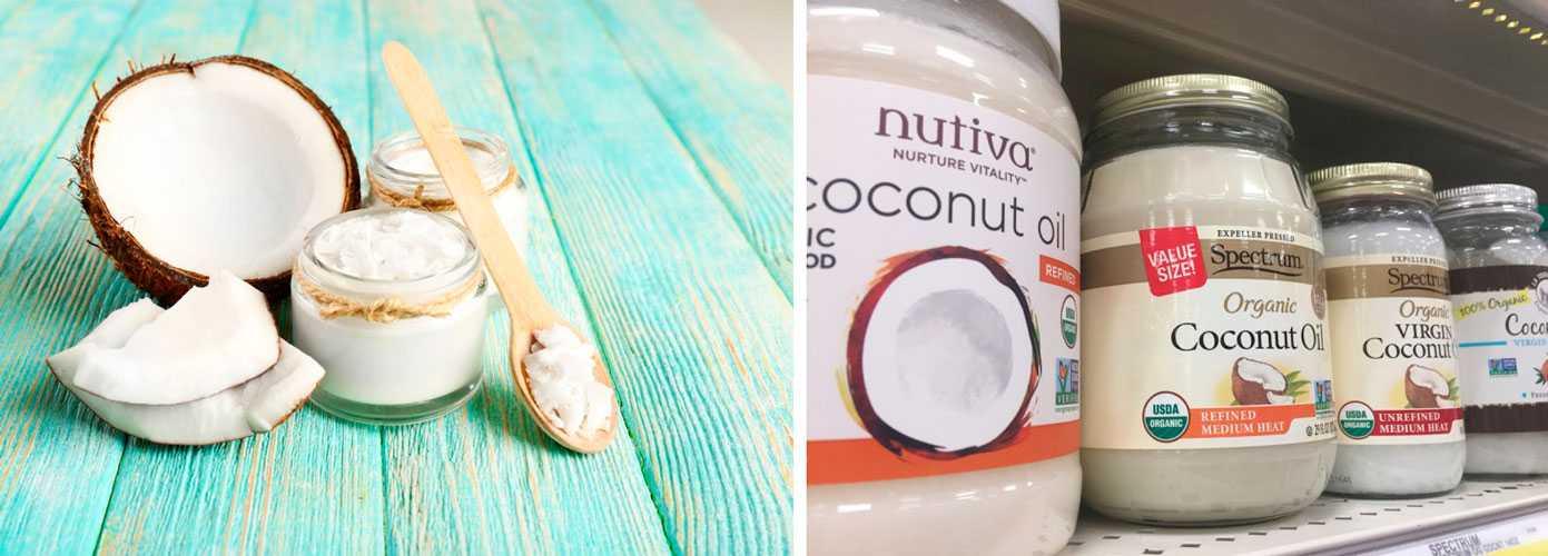 Кокосовое масло на Айхерб: ТОП лучших продуктов