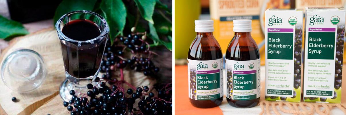 Бузина с Айхерба: черный сироп для сезона простуд
